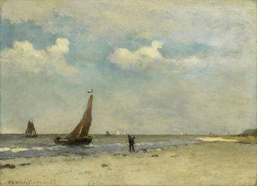 Strandszene, Johan Hendrik Weissenbruch