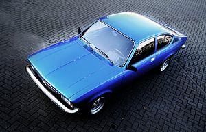 Opel Kadett C Coupe SR  van