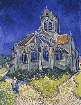 Vincent van Gogh. Die Kirche in Auvers sur Oise