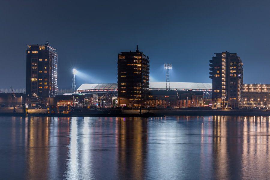 Feyenoord stadion quot de kuip quot 2017 in rotterdam for Canvas feyenoord de kuip