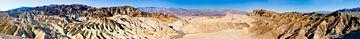 Death Valley Panorama von Lieke Doorenbosch