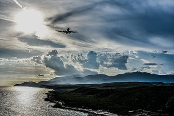 Flugzeug von Michelle van den Boom