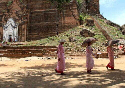 Mingun pagode in Mynamnar