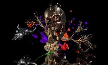 Schwarze Nacht der Skulls. von Norbert Barthelmess
