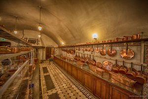 Keuken kasteel De Haar