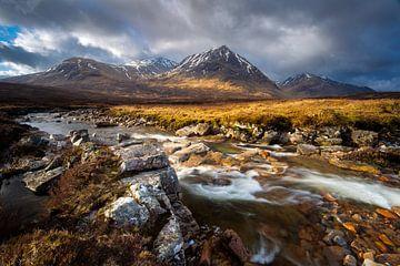 Fluss Coupall, Schottland von