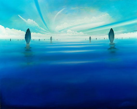 Meeres-Statuen van Silvian Sternhagel