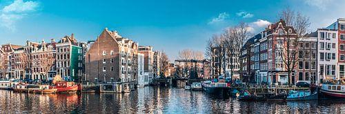 Oude schans Amsterdam centrum, Nederland