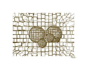 Balls and bricks van Rosi Lorz