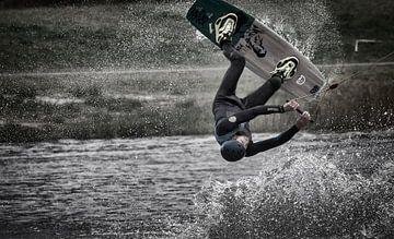 Wakeboarder sur