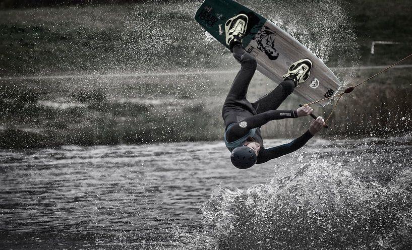 Wakeboarder van Fouchienus Molema