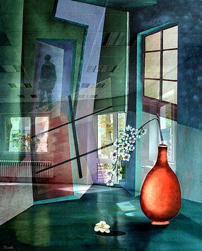 Licht in de kamer van Gertrud Scheffler