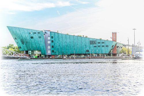Science Center Nemo in Amsterdam van Fotografie Jeronimo