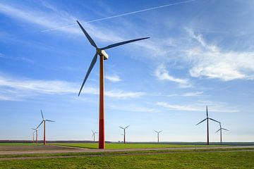 Windmolenpark Flevoland sur Dennis van de Water
