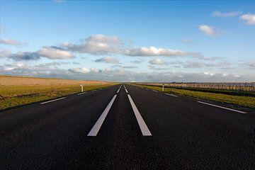 Weg naar het de horizon van Etienne Rijsdijk