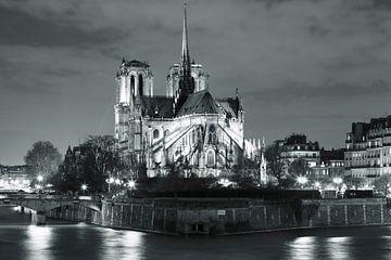 Notre Dame bei Nacht, Paris von Markus Lange
