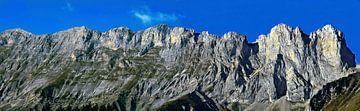 Vercors Bergpanorama van Daphne Photography