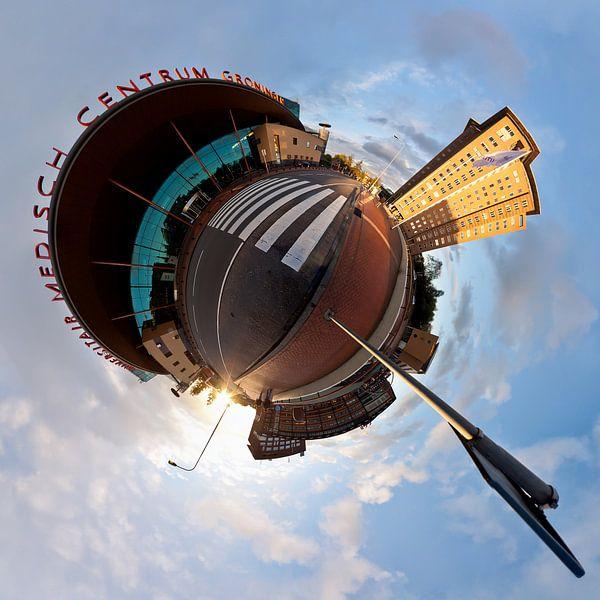 Planet Hanzeplein UMCG van Frenk Volt
