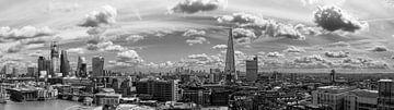 London Sky Line, Panorama von Mark de Weger