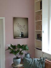 Kundenfoto: Blaue Vase mit Beeren von Karin Bazuin, als xpozer