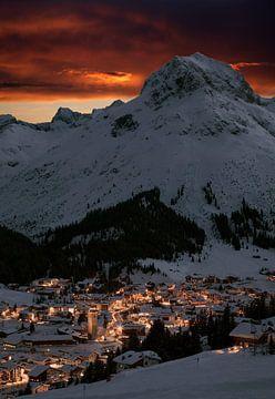 Lech am Arlberg van Jürgen Wiesler
