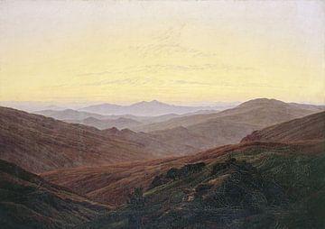 Caspar David Friedrich. Les Montagnes Géantes