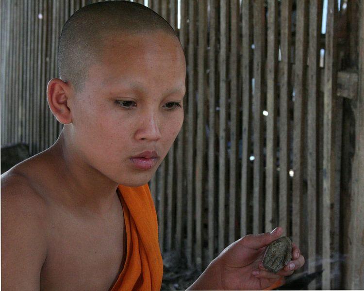 Boeddhistische monnik van Cora Unk