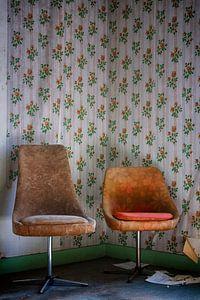 Urbex: Stillleben Stühle