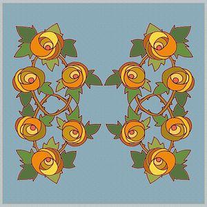 Les Roses dessin 1