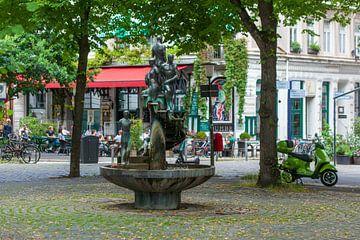 Jubiläumsbrunnen, Großneumarkt, Neustadt, Hamburg, Deutschland, Europa von Torsten Krüger