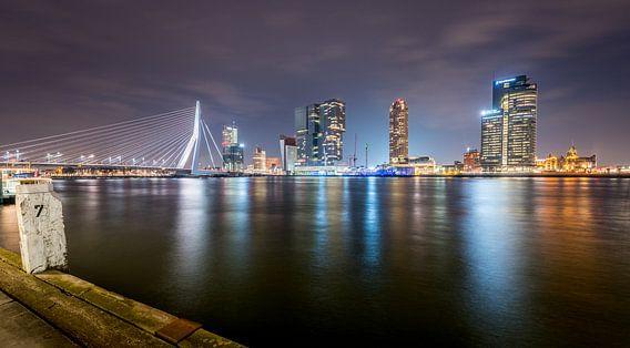 Rotterdam - Kop van Zuid & Erasmusbrug van Henk Verheyen