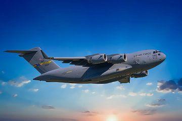 Boeing C-17A GlobemasterIII, USAF. Anmeldung 99-0169 von Gert Hilbink