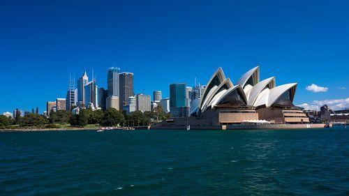 Sydney Operahuis met CBD van Tessa Louwerens