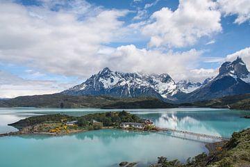 Pehoe See in Torres del Paine von Erwin Blekkenhorst