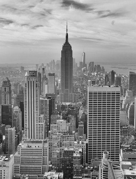 New York skyline van ÇaVa Fotografie