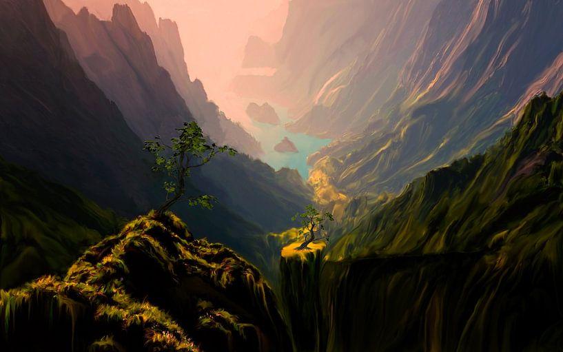 Canyons Verts von Angel Estevez