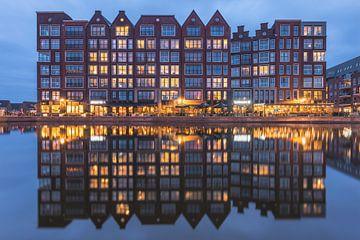 Als de avond valt in Alkmaar van