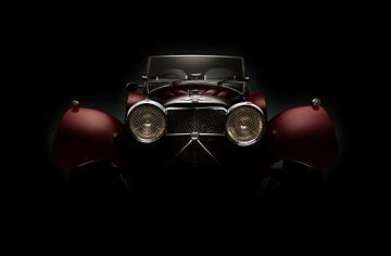 1936 Jaguar SS100 Roadster von Thomas Boudewijn