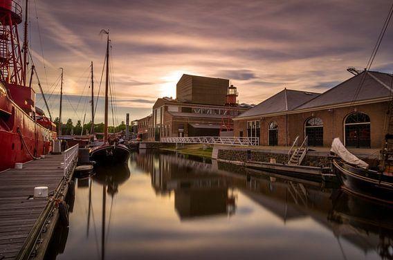 Op de haven van Den Helder