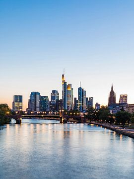 Bankwijk Frankfurt am Main van Werner Dieterich