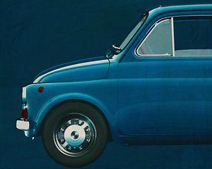 Fiat Abarth 595 1968 Side
