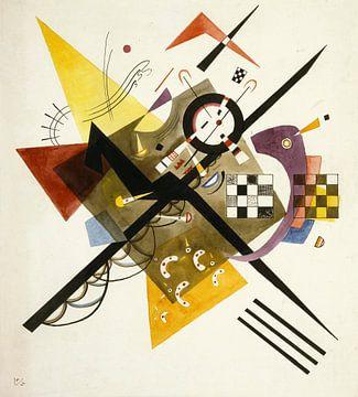 Studie voor Auf Weiss II, Wassily Kandinsky