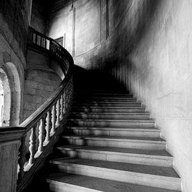 Kloostertrap, oude trap van Gert Hilbink