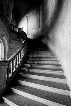 Escaliers du monastère, anciens escaliers. The Stairway to Heaven sur Gert Hilbink