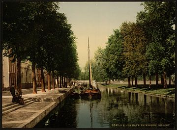 Het Kanaal, Den Haag von Vintage Afbeeldingen