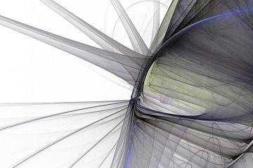 Graphic Fractal 3 von Gerrit Zomerman