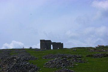 Romeinse restanten van Acinipo ruïne bij Ronda van Natasja Tollenaar