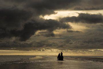 Dunkle Wolken auf See | Papua in Indonesien von Photolovers reisfotografie