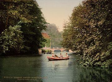 In het park, Utrecht von Vintage Afbeeldingen