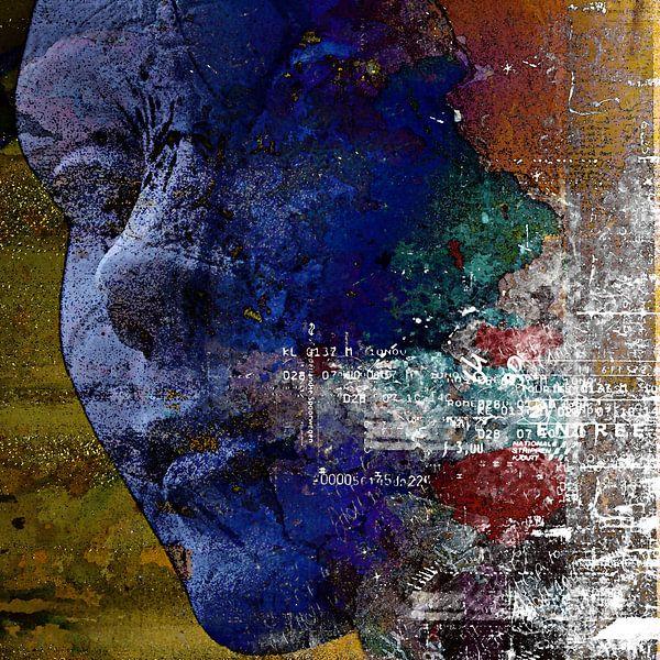 Blue face von PictureWork - Digital artist